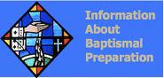 Baptismal prep button