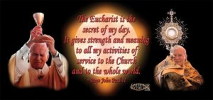 JPII and Eucharist